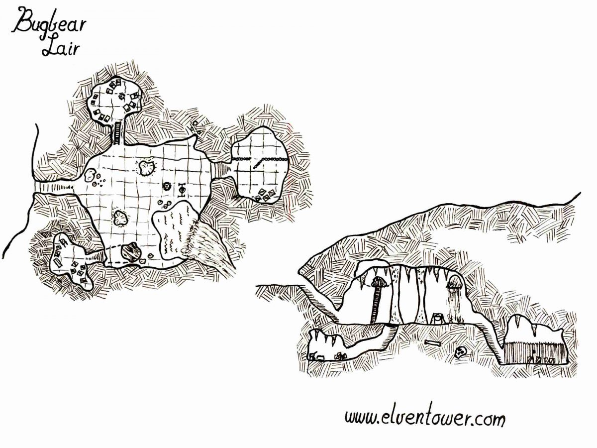 Bugbear Lair – Map