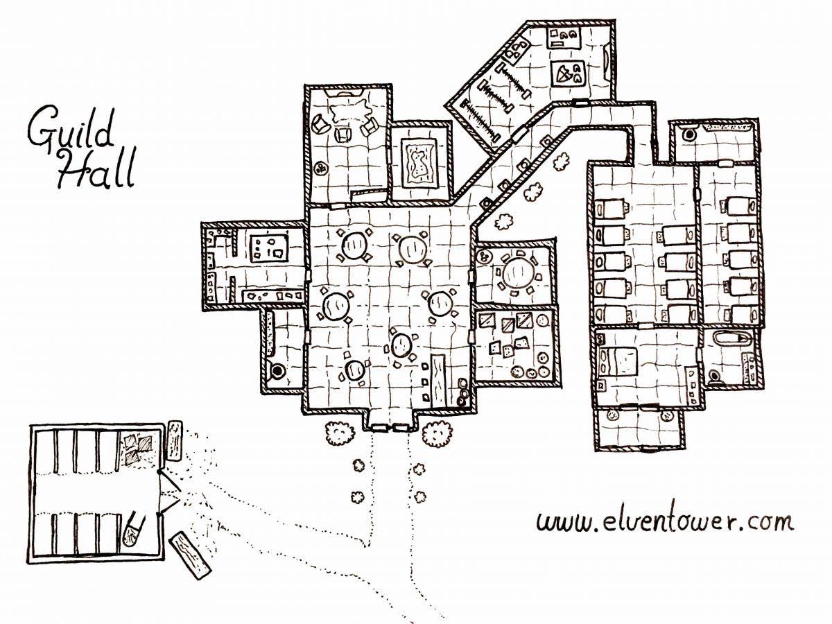 Guild Hall – Map
