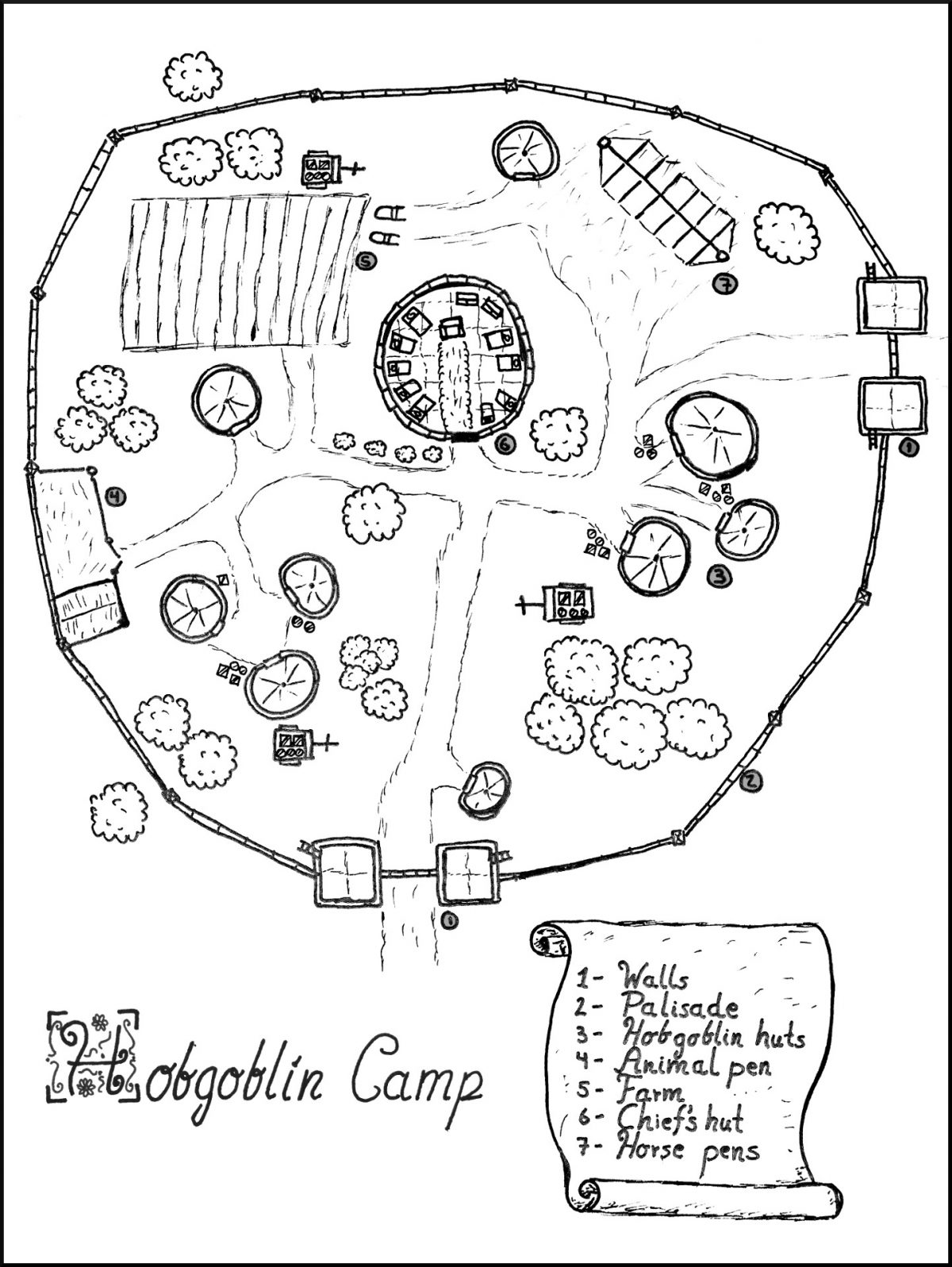 Map 17 – Hobgoblin Camp