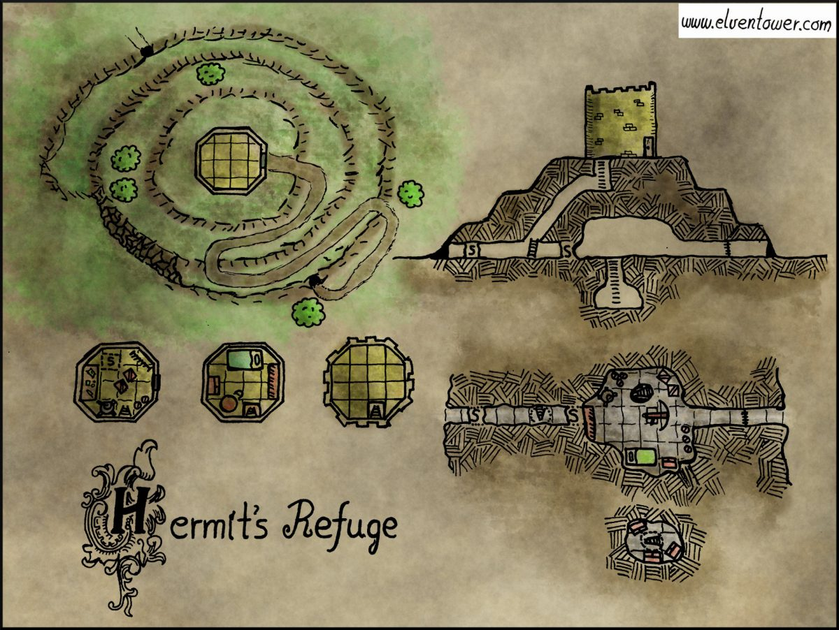 Map 19 – Hermit's Refuge