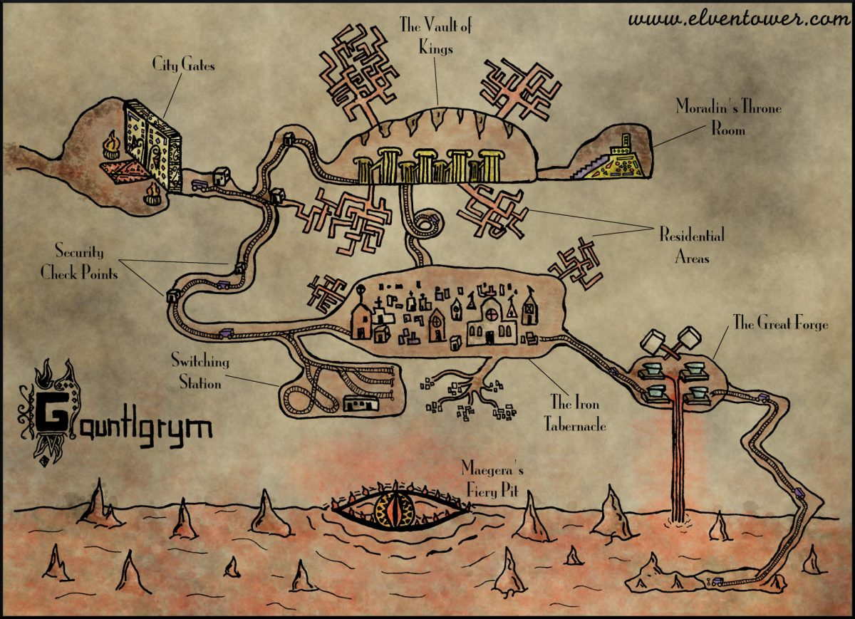 Map 22 – Gauntlgrym (Forgotten Realm)