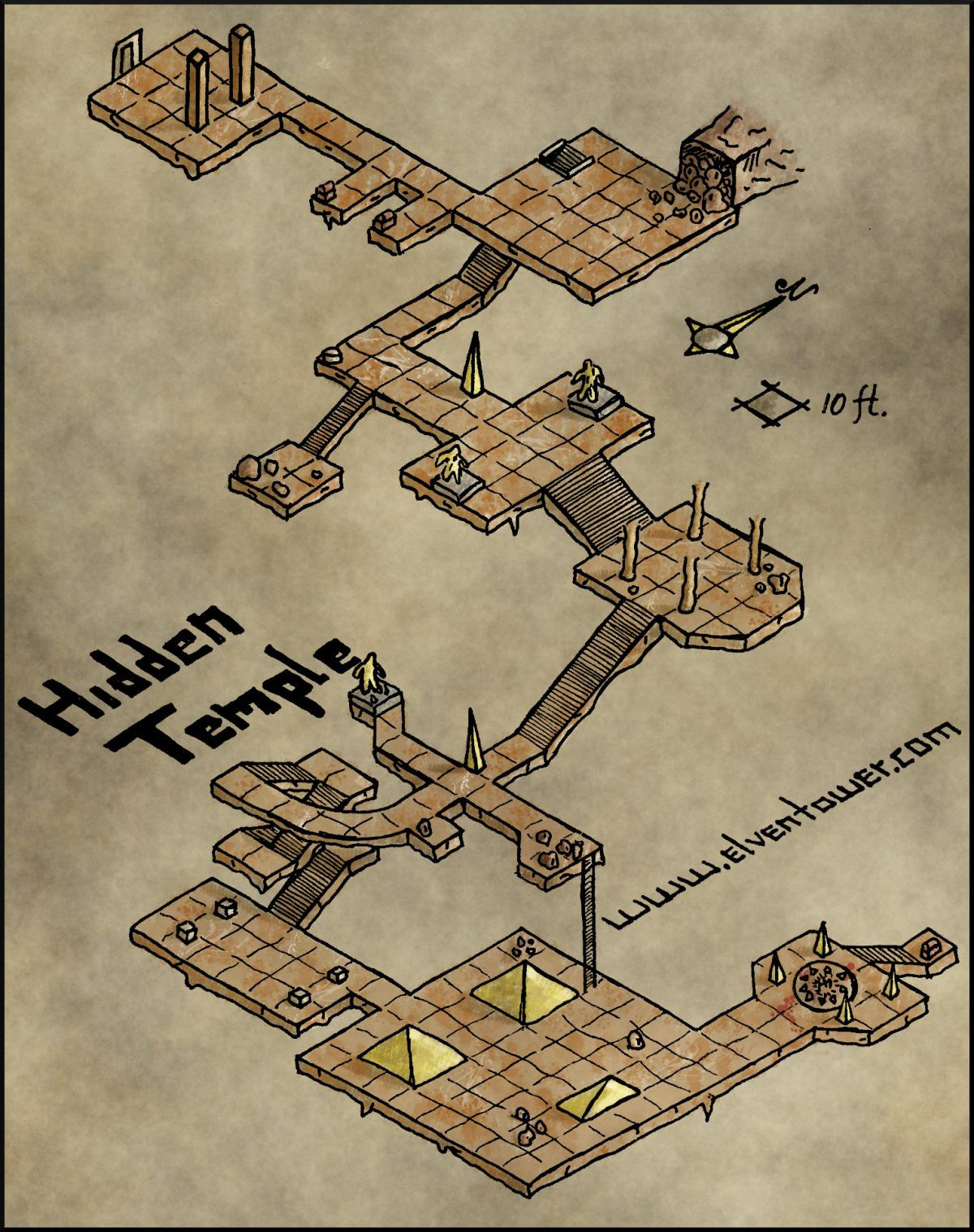 Map 23 – Hidden Temple