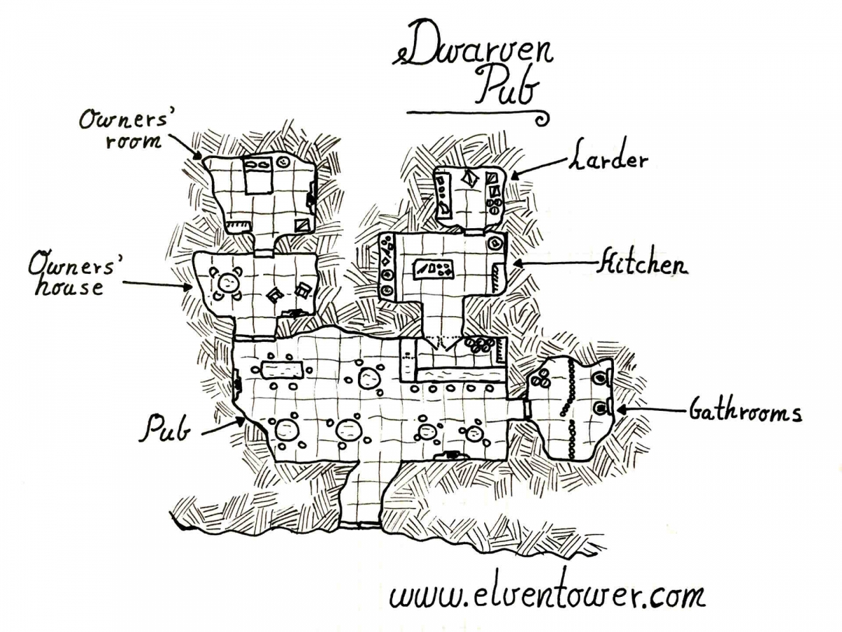 Dwarven Pub – Map