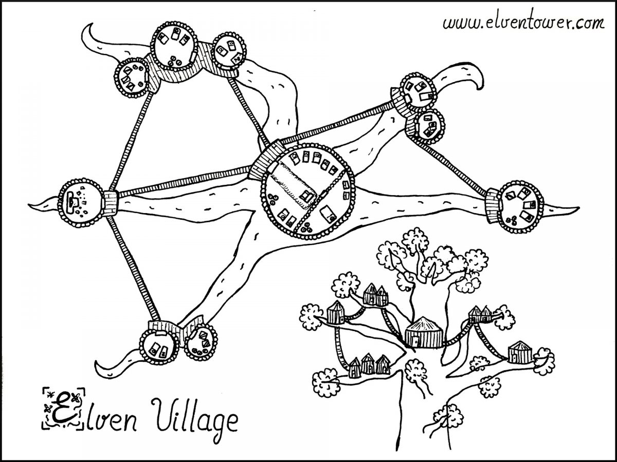 Elven Village – Map