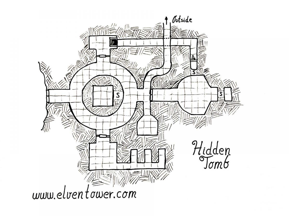 Hidden Tomb – Map