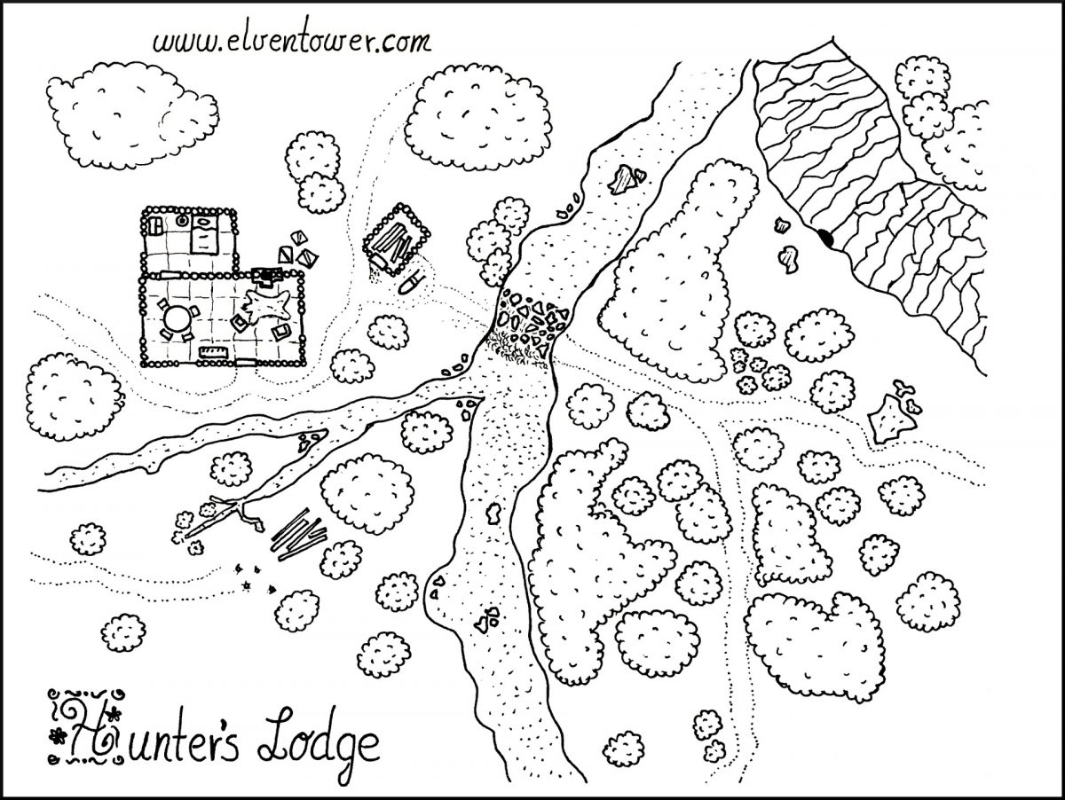 Hunter's Lodge – Map