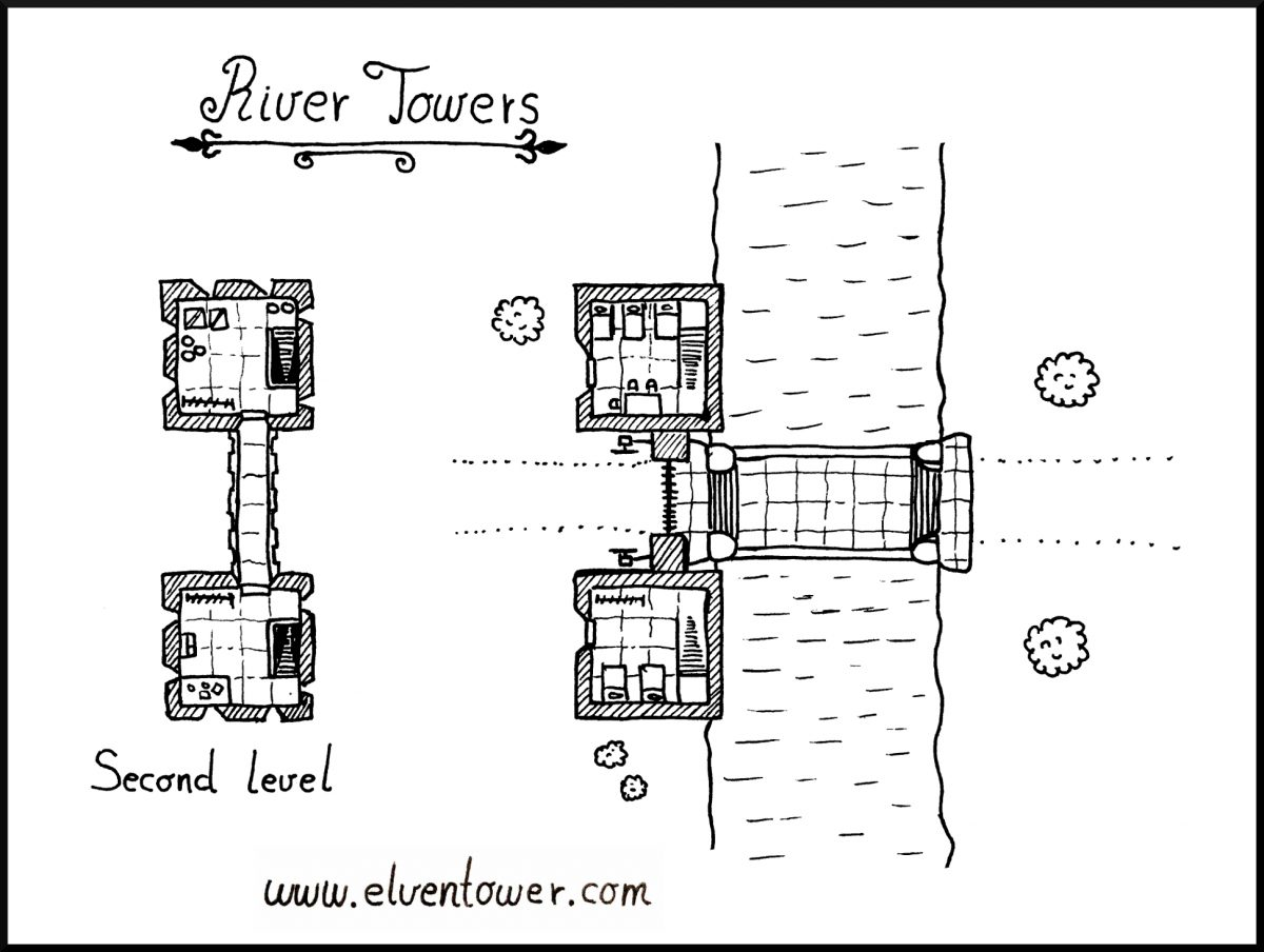 River Towers – Map