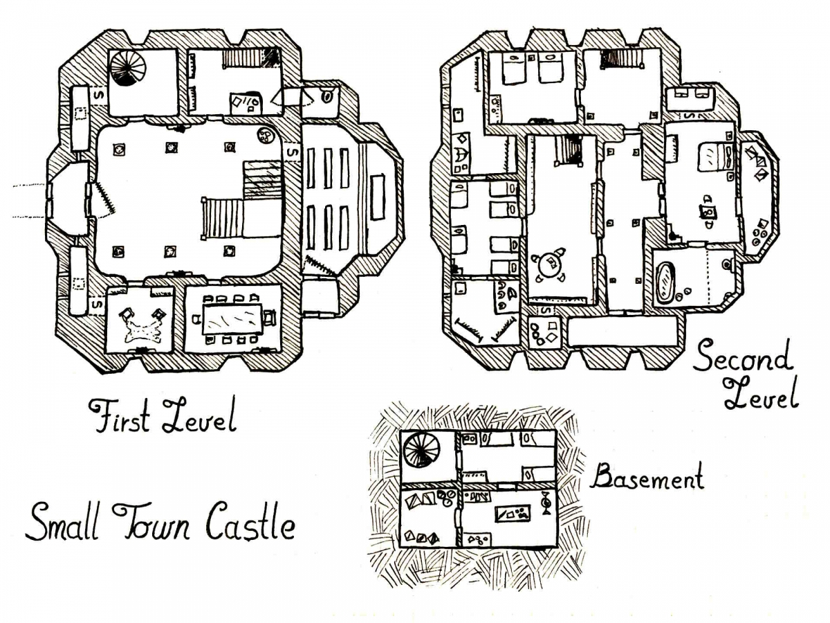 Small Town Castle – Map