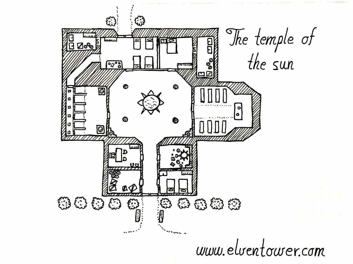 Temple of the Sun – Map