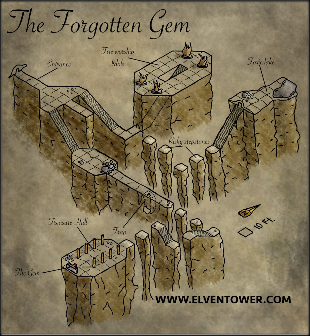 Map 30 – The Forgotten Gem