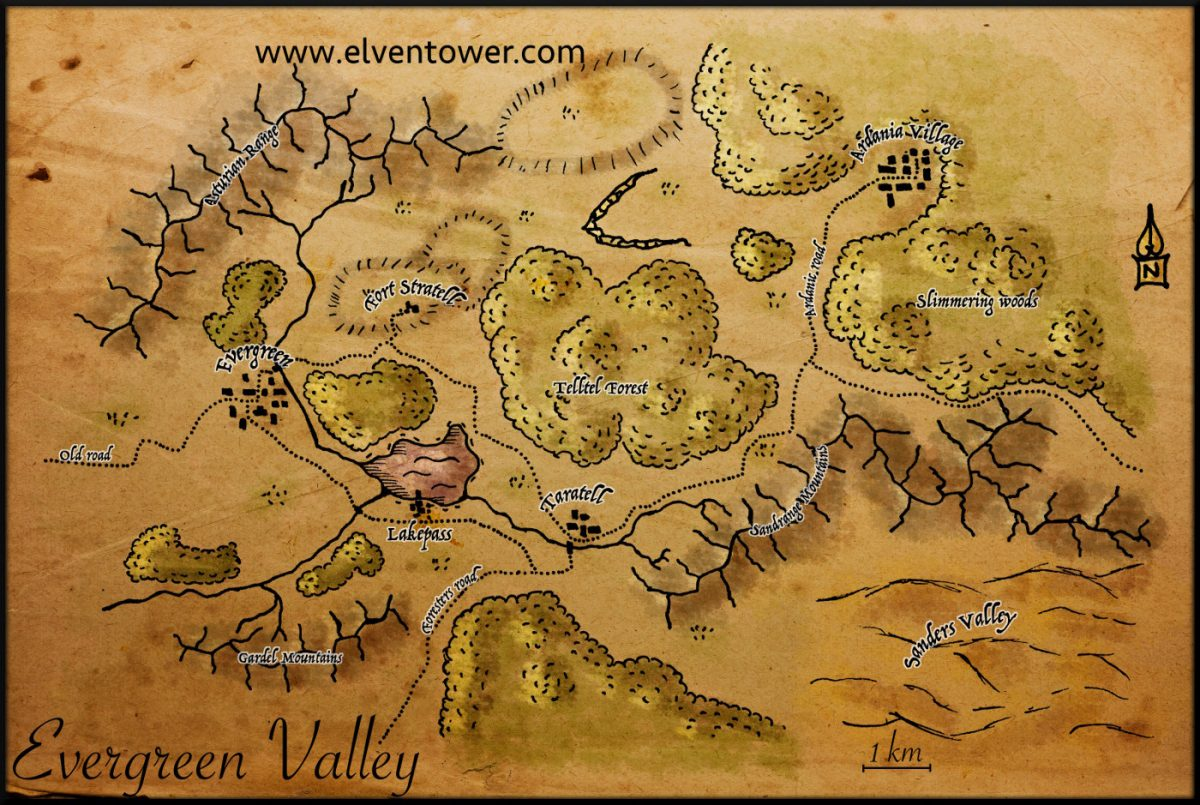 Map 32 – Evergreen Valley