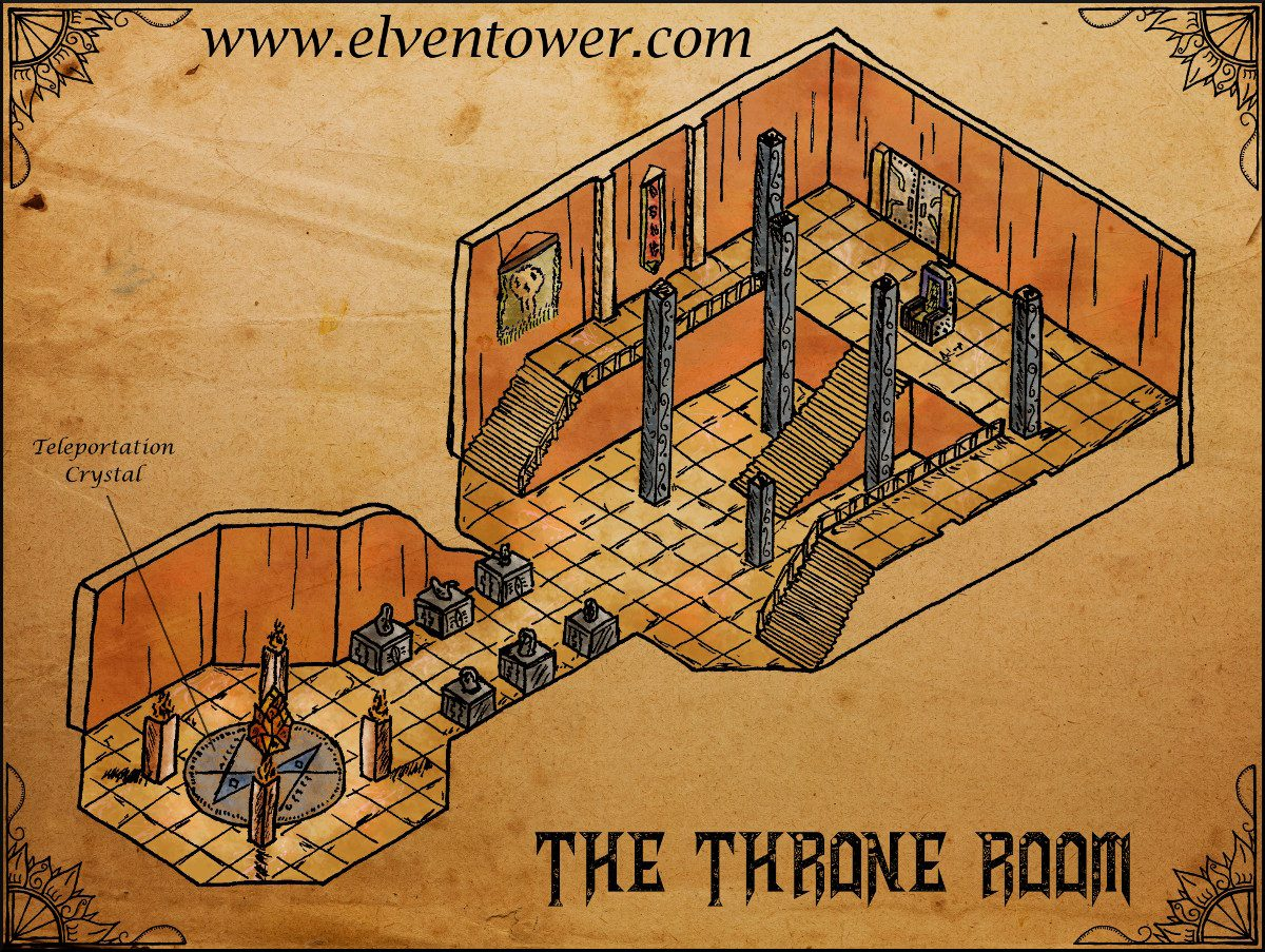 Map 44 – The Throne Room