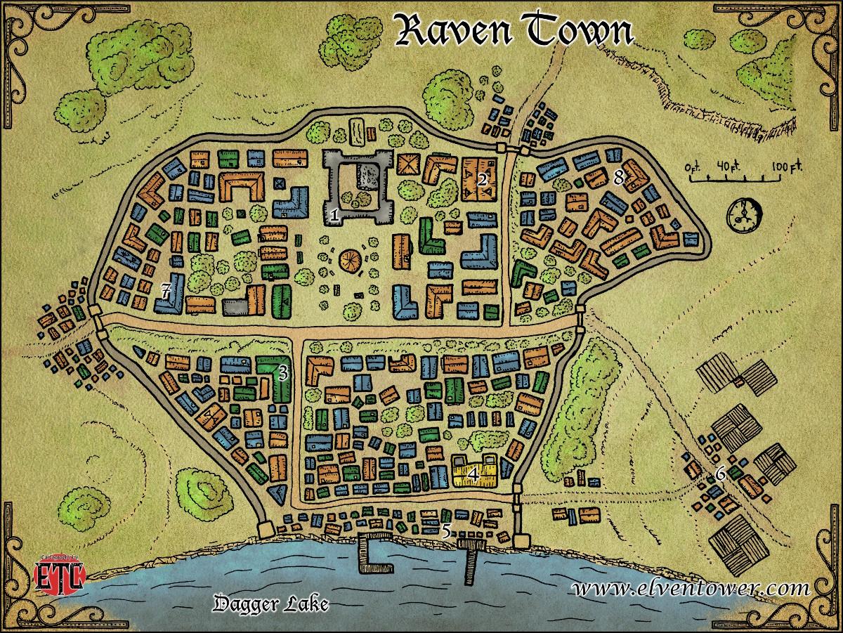 47 Raven Town-L