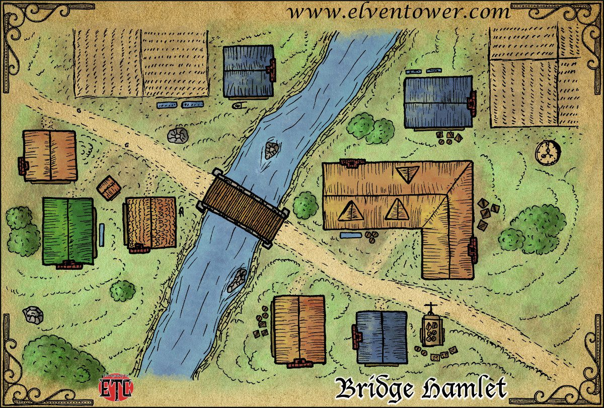 Map 48 – Bridge Hamlet