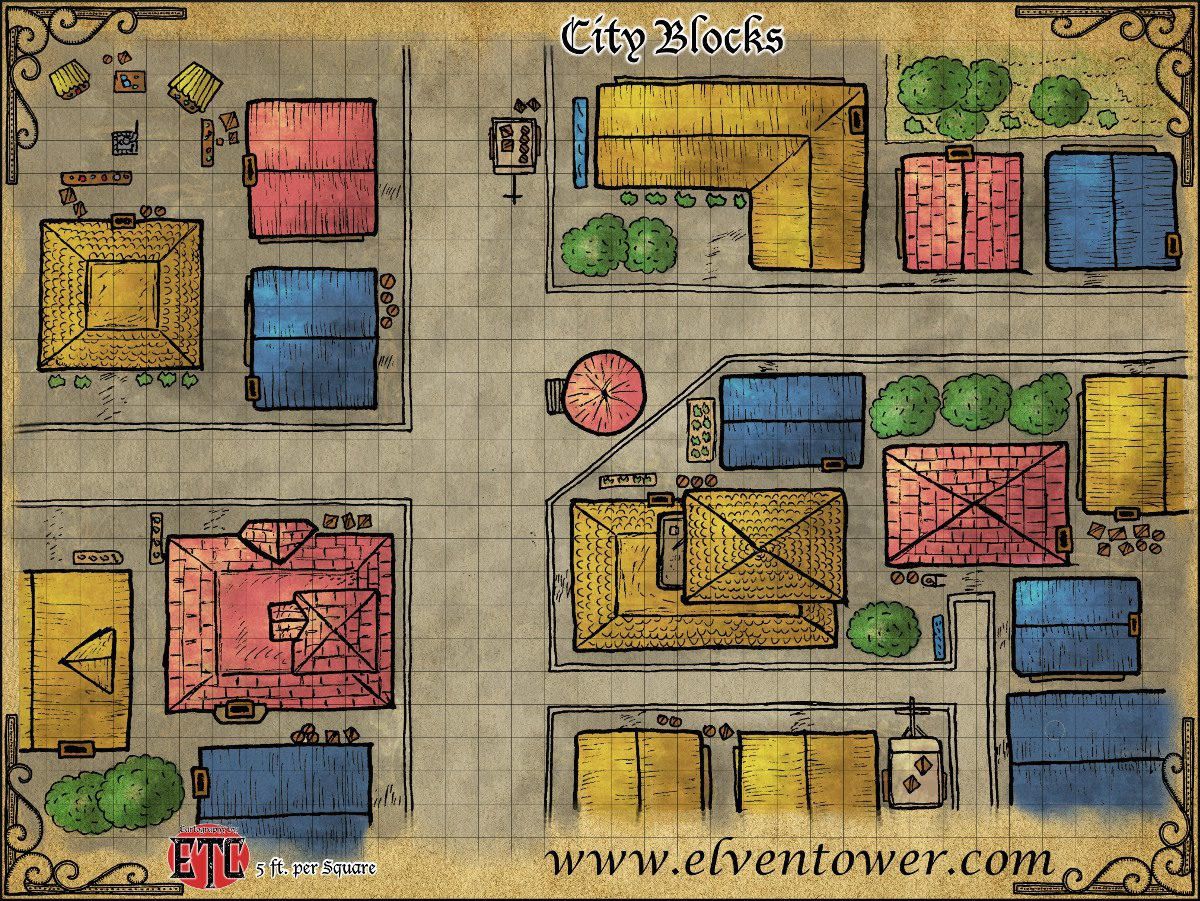 Map 49 – City Blocks