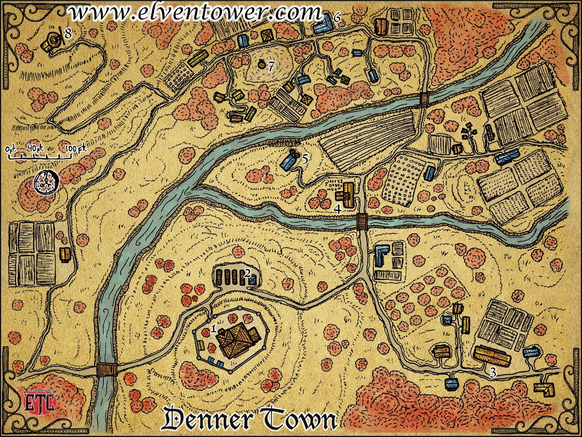 Map 50 – Denner Town