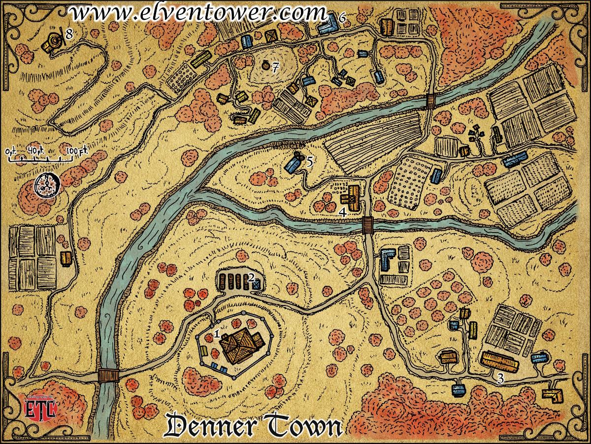 50 Denner Town-L