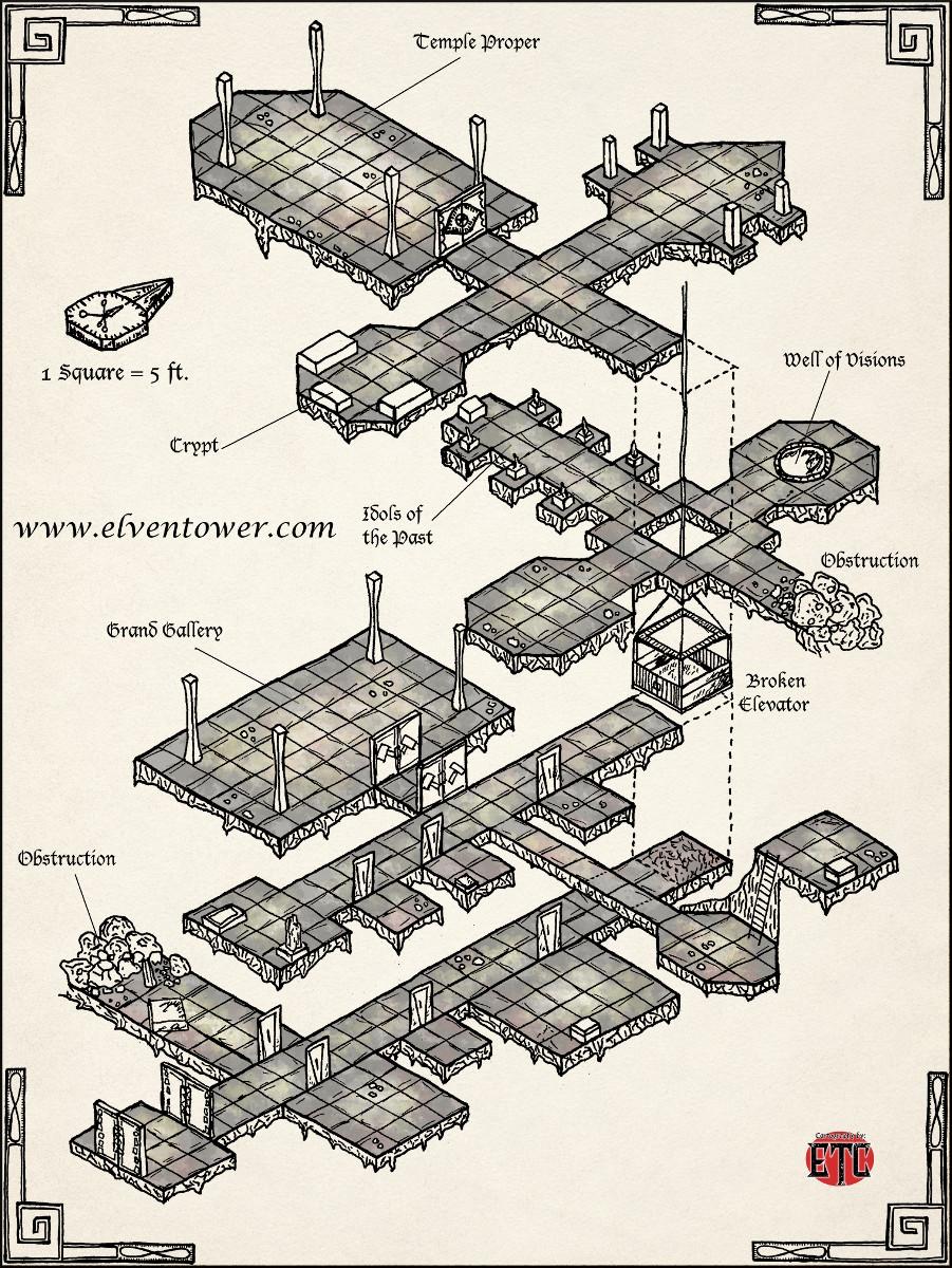 Map 52 – Forsaken Ruins
