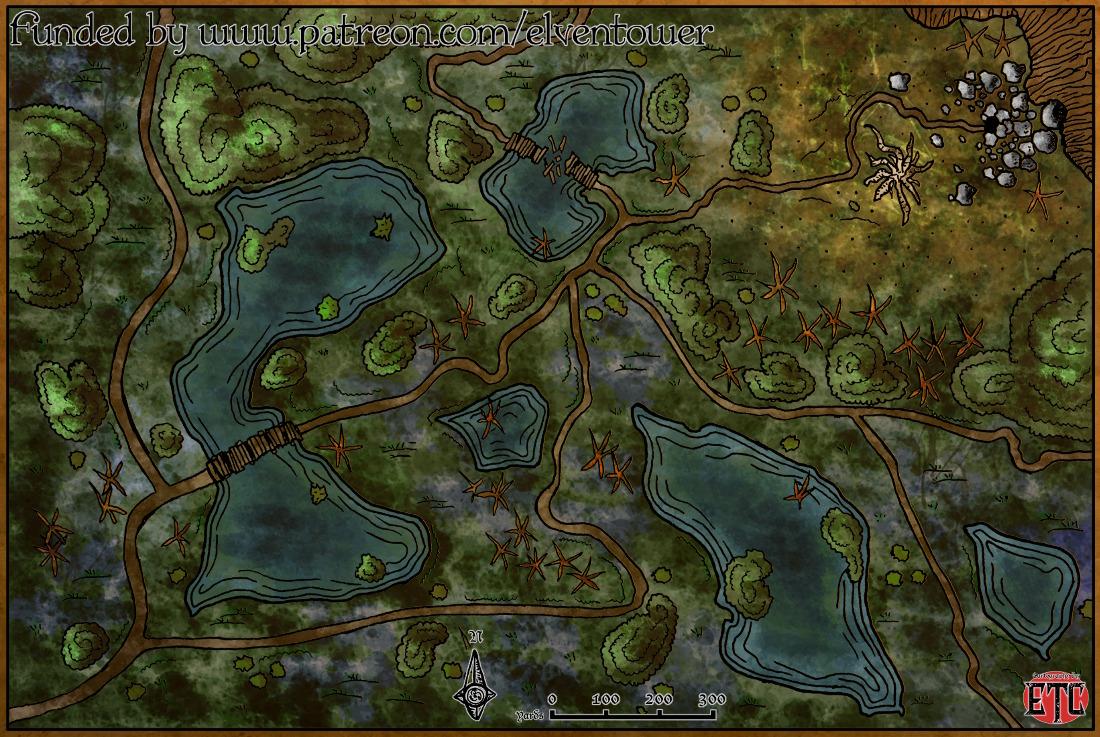 Map 62 – Swamp Exploration