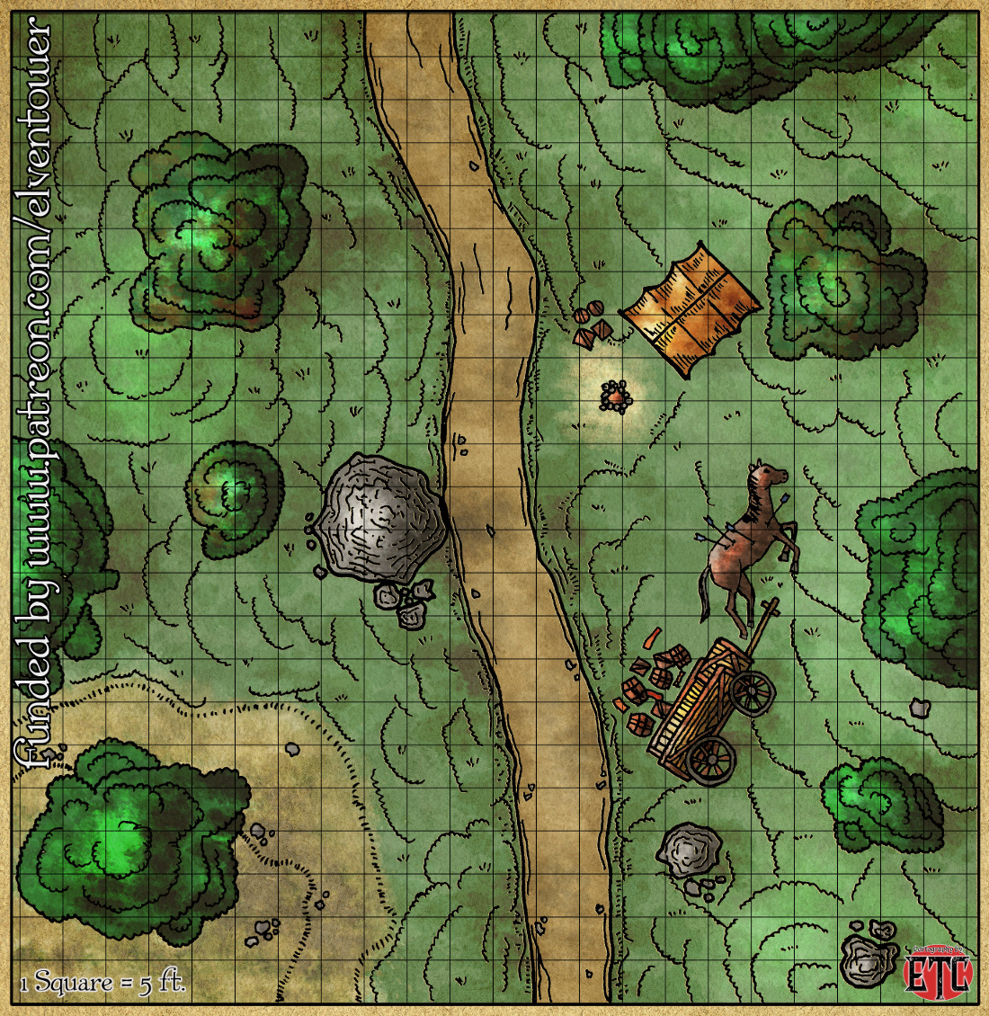 Map 66 – Road Encounter