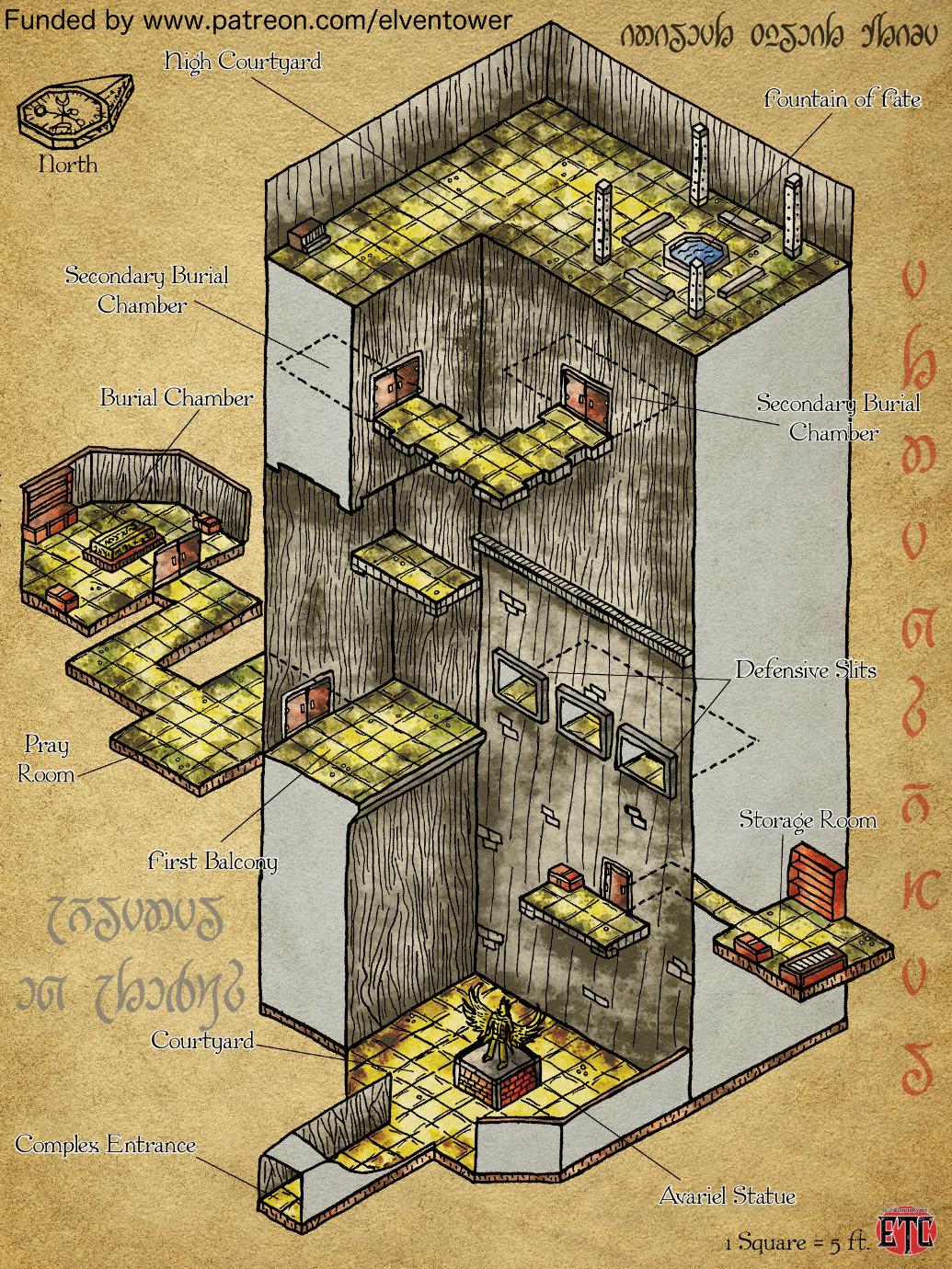 Map 69 – Avariel Complex