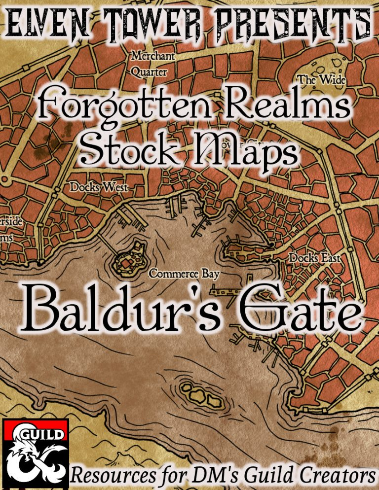 Baldur's Gate - Elven Tower