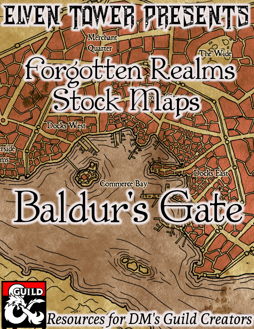 Baldur's Gate Forgotten Realms Stock