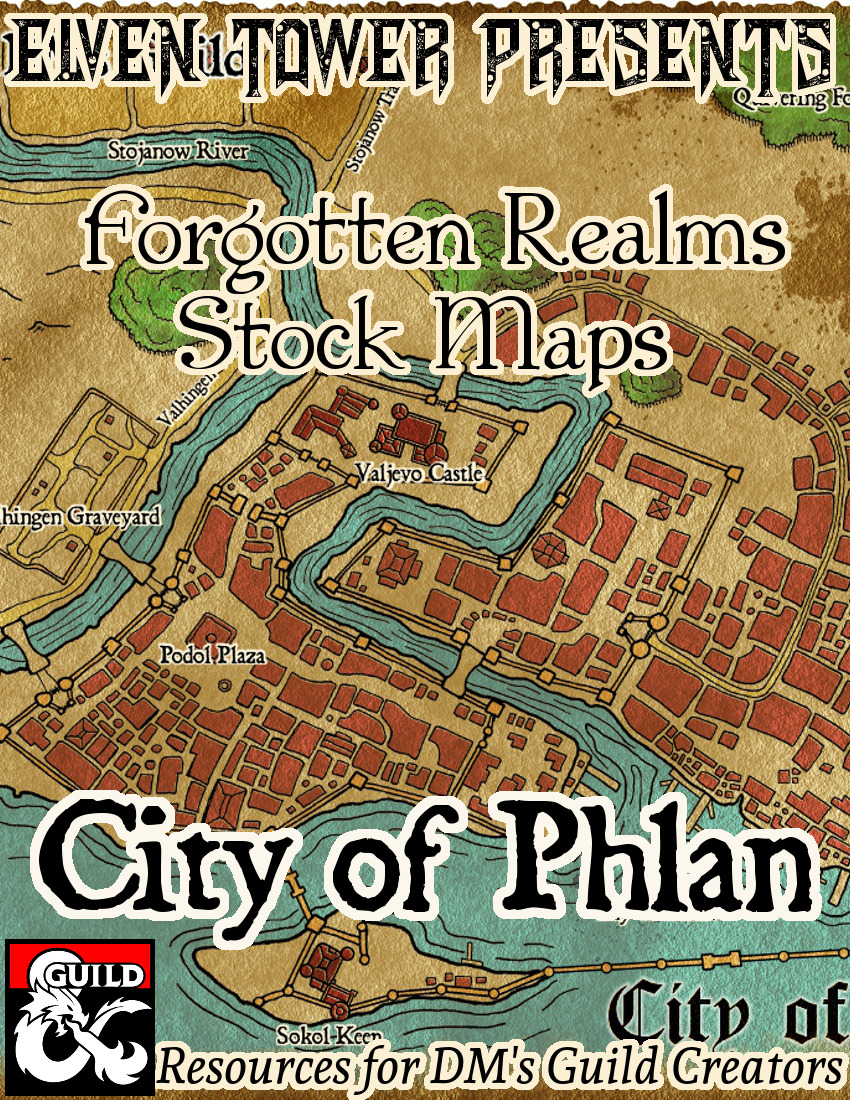 Phlan –  Forgotten Realms Stock