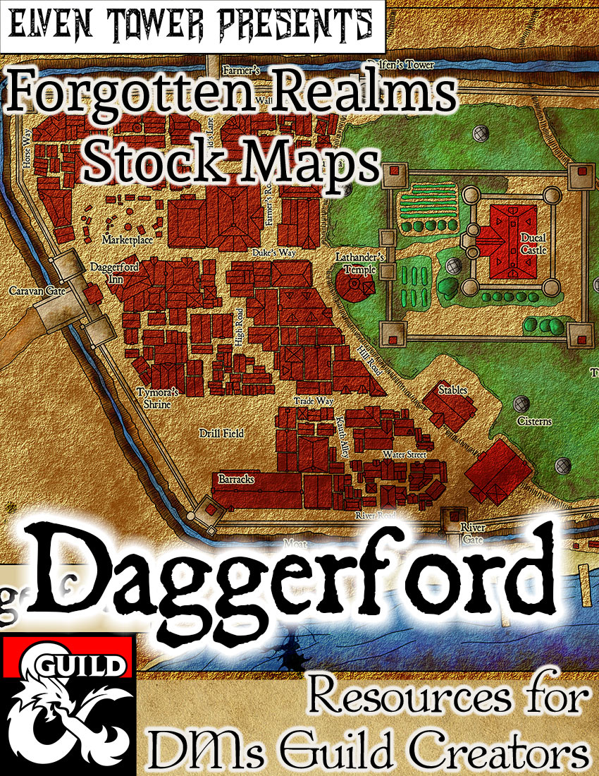 Daggerford –  Forgotten Realms Stock