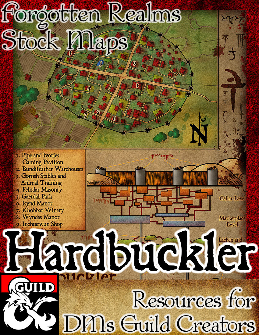 Hardbuckler Forgotten Realms Stock