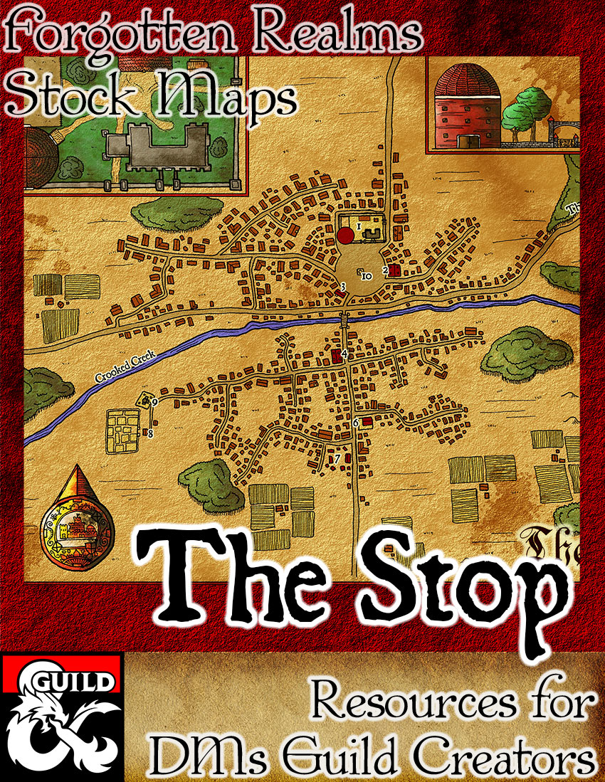 The Stop –  Forgotten Realms Stock