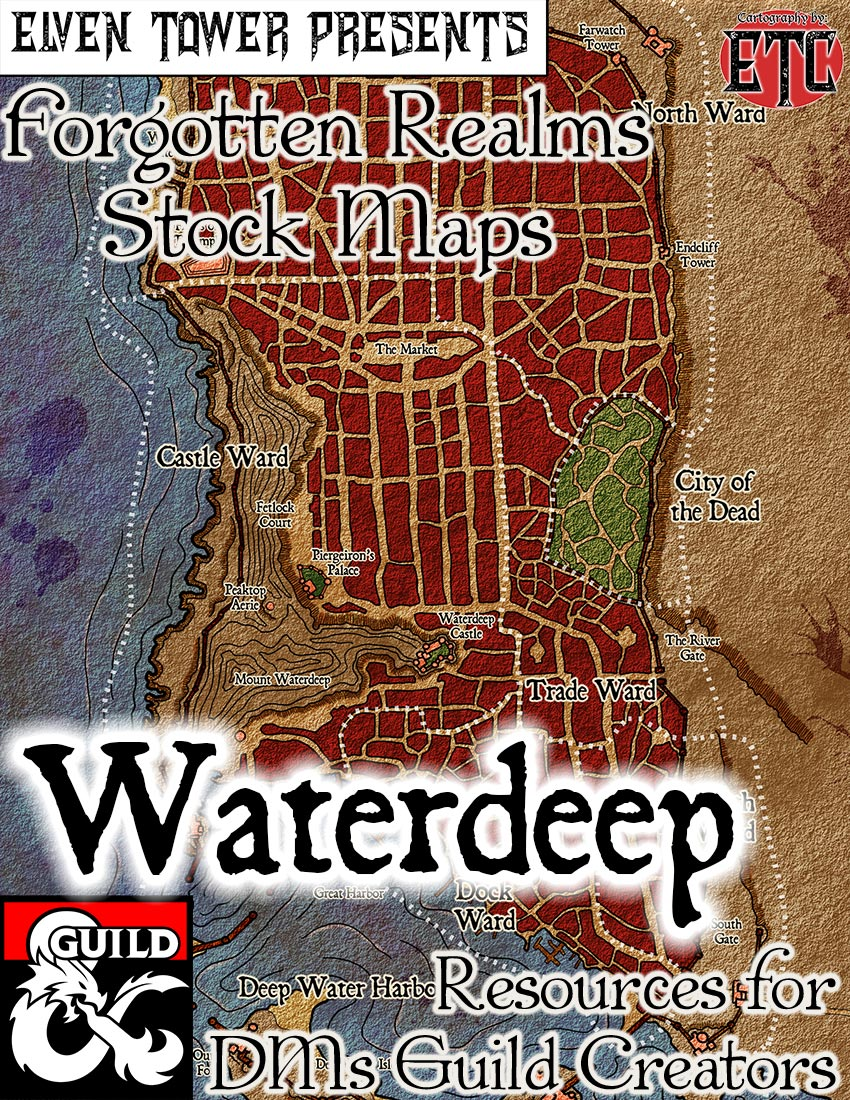 Waterdeep –  Forgotten Realms Stock