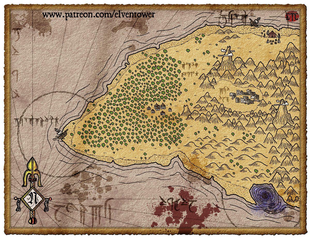 Map 74 – Treasure Island
