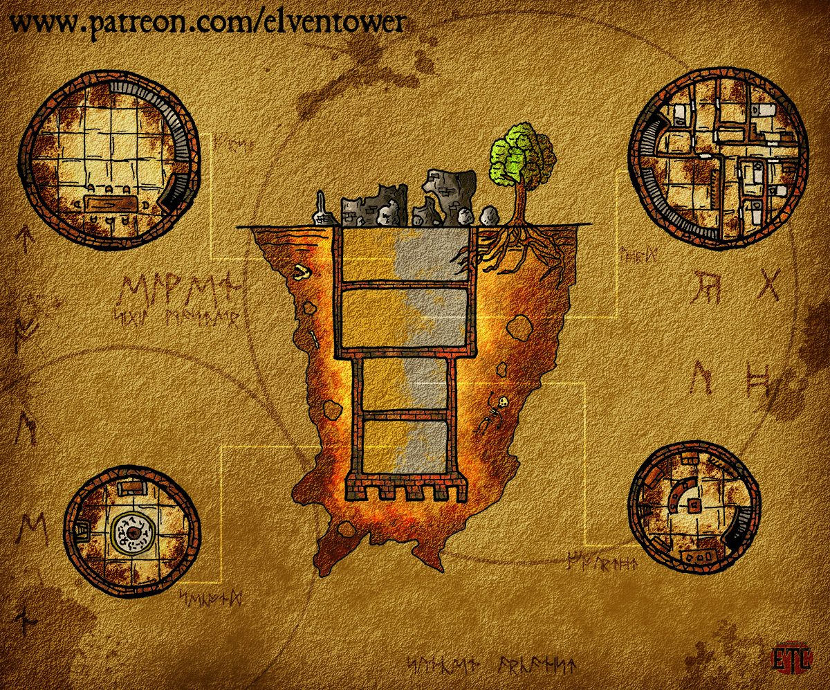 Map 75 – Sunken Tower