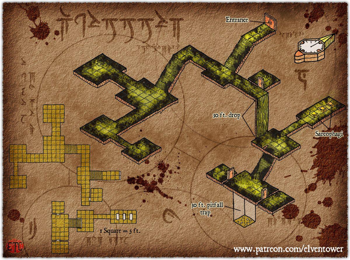 Map 76 – Underground Lair