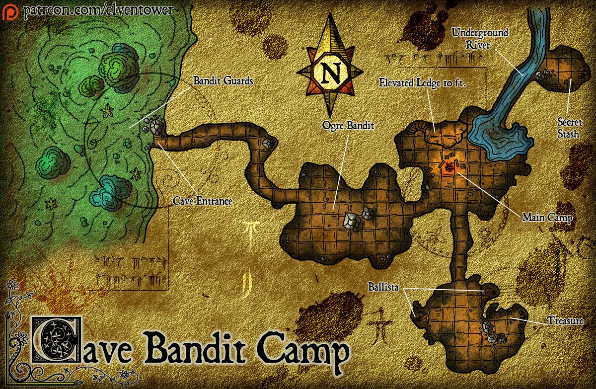 Map 78 – Cave Bandit Camp