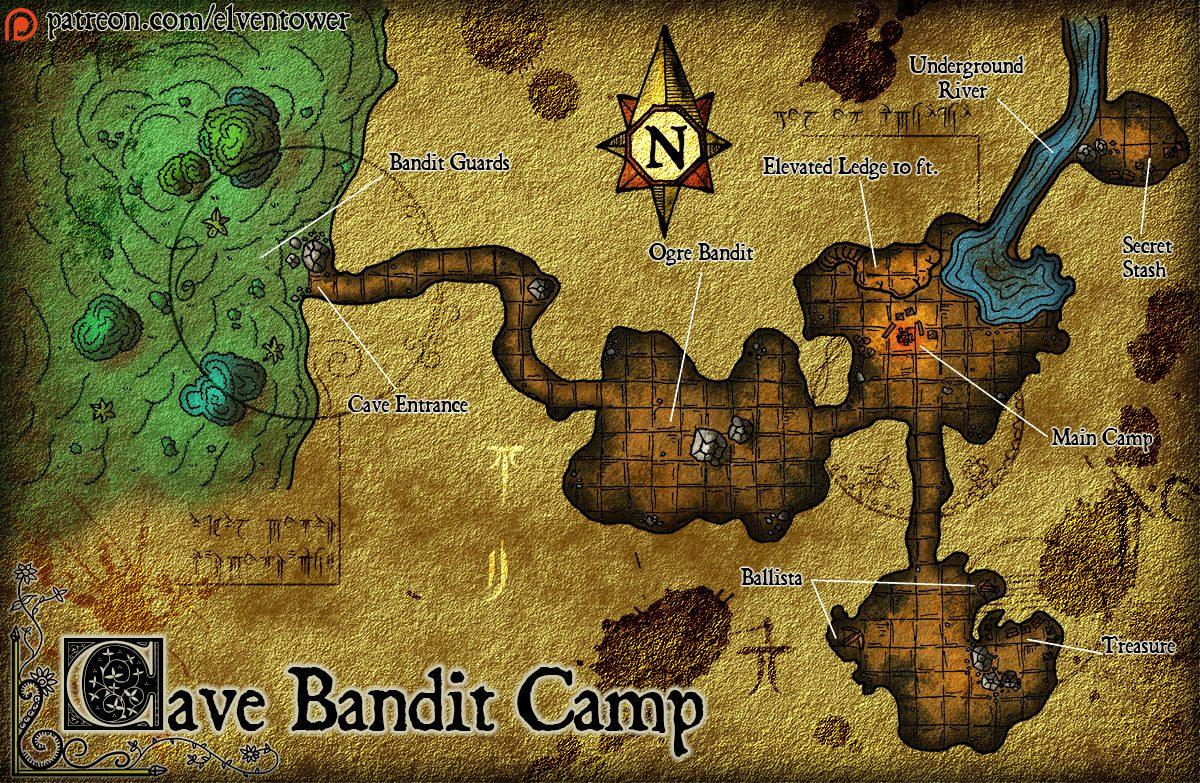 Map 78 – Cave Bandit Camp