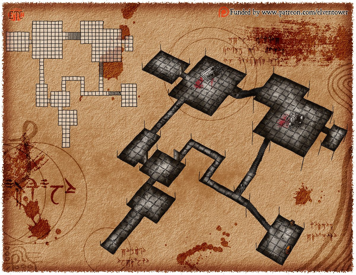Map 81 – The Arcane Tablet