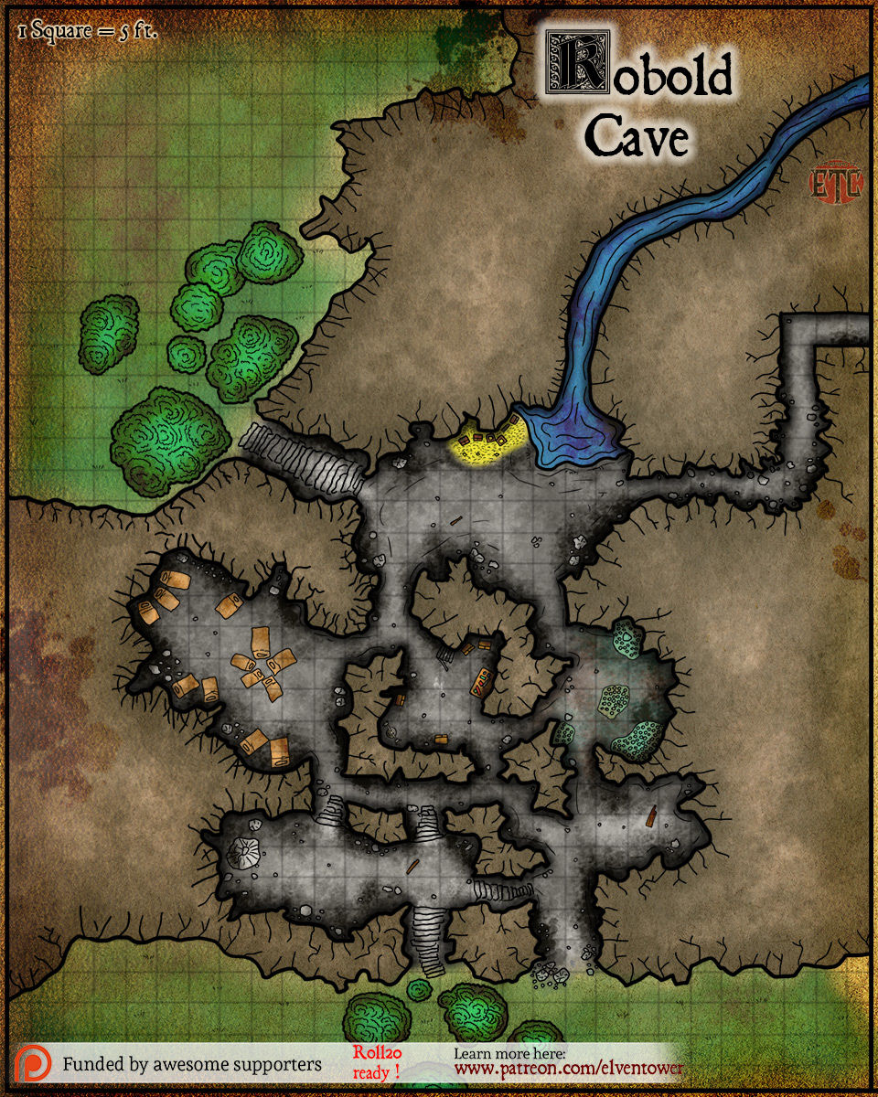 Map 86 – Kobold Cave