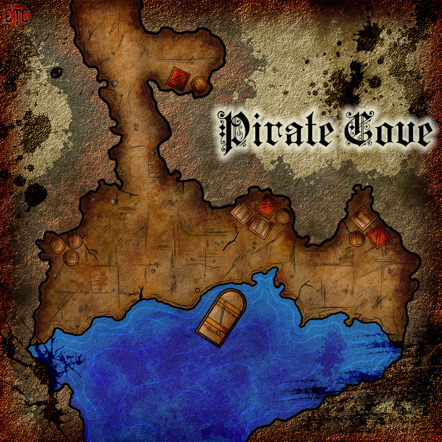 Map 92 – Pirate Cove