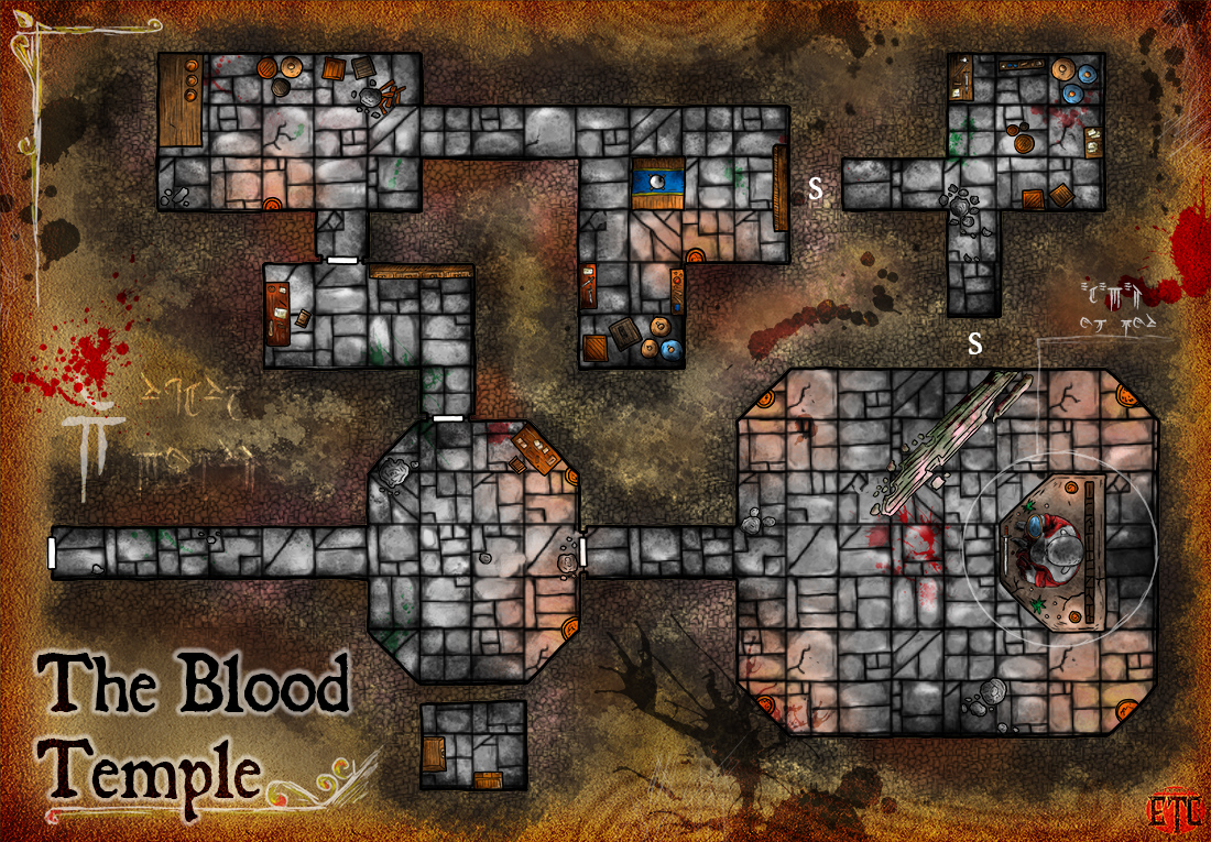 Map 93 – Blood Temple