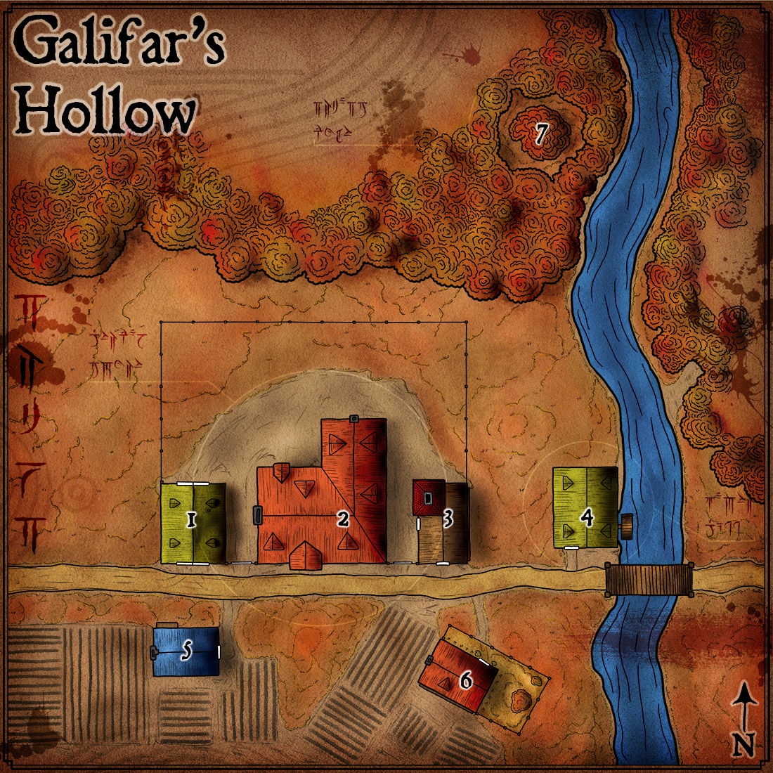 Map 95 – Galifar's Hollow