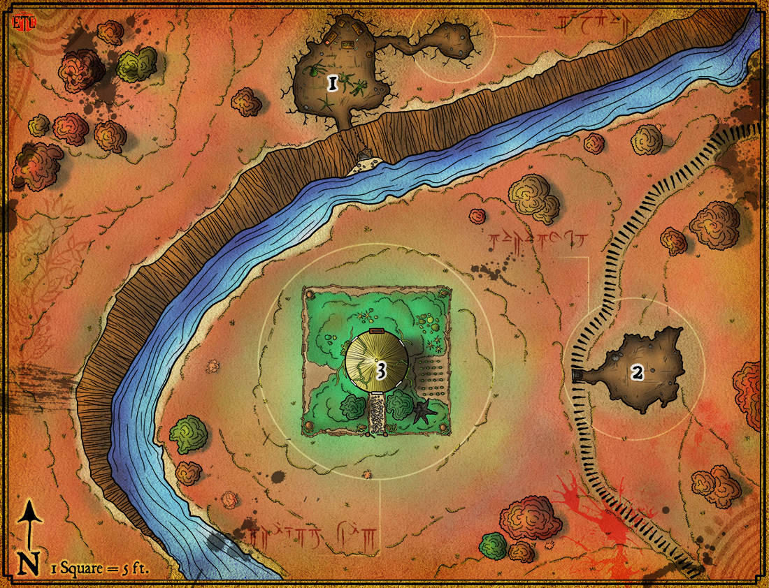 Map 96 – Druid's Hut