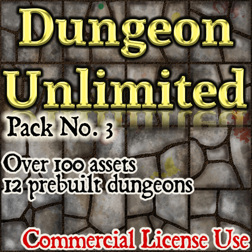 Pack No.3 – Dungeon Unlimited – Roll20