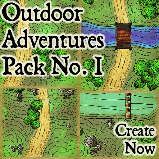 Pack No.1 – Outdoors Adventures – Roll20