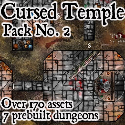 Pack No.2 – Cursed Temples – Roll20