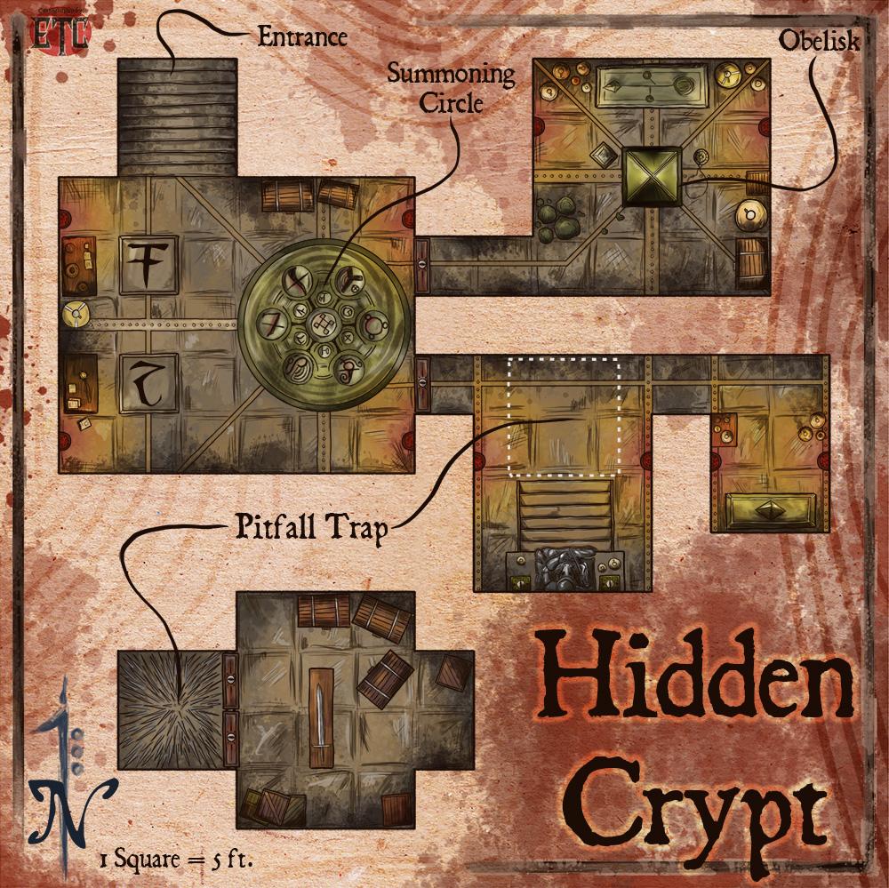 109 – Hidden Crypt