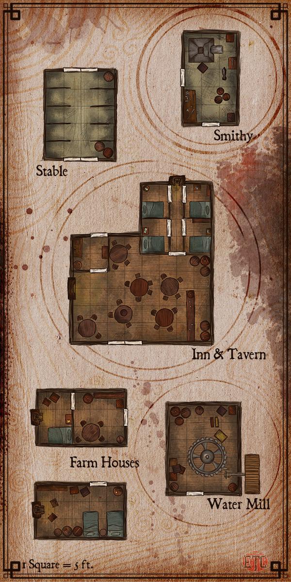 111 – Village Houses