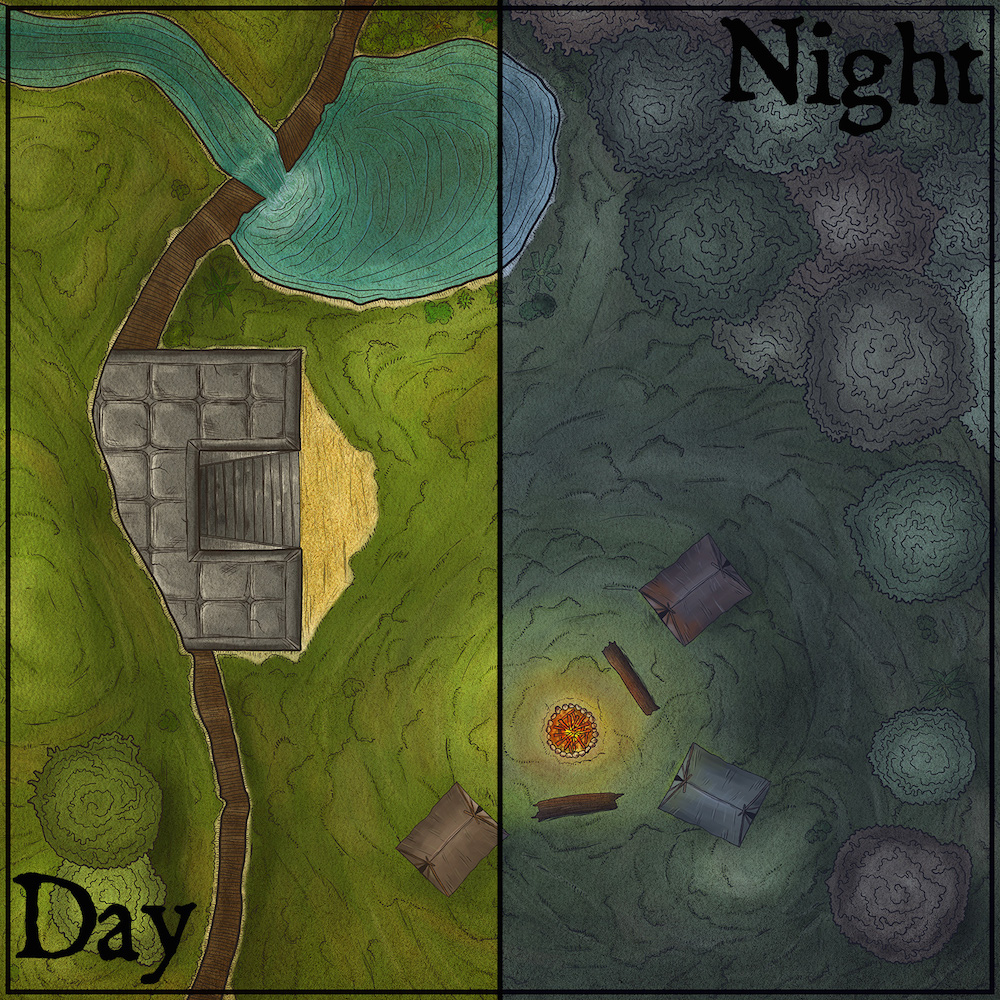 114 – Campsite before the Dungeon