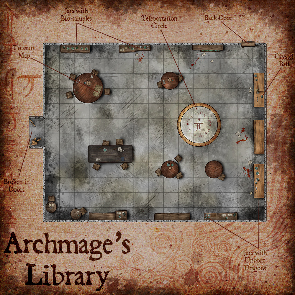 118 – Archmage's Library